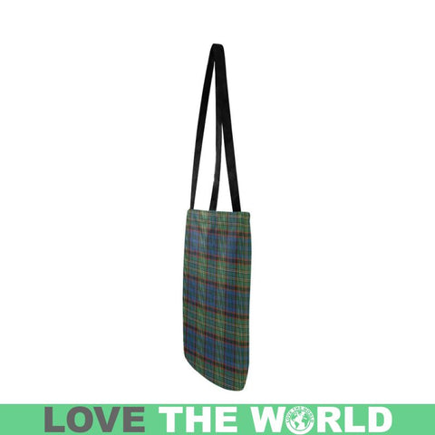 Nicolson Hunting Ancient Tartan Reusable Shopping Bag - Hb1 Reusable Shopping Bag Model 1660 (Two