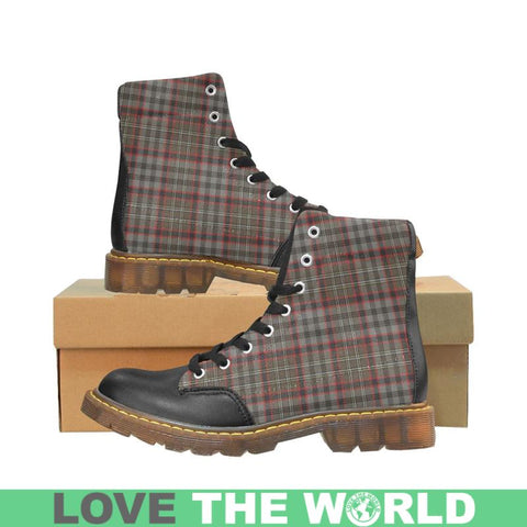 Image of Tartan Apache Boot - Nicolson Hunting Weathered | Footwear | Over 500 Tartans