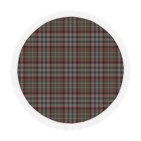 Image of Nicolson Hunting Weathered Tartan Circular Shawl Th1 Shawls