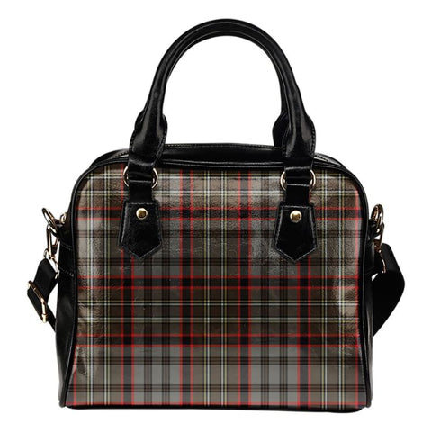 Tartan Shoulder Handbag - Nicolson Hunting Weathered
