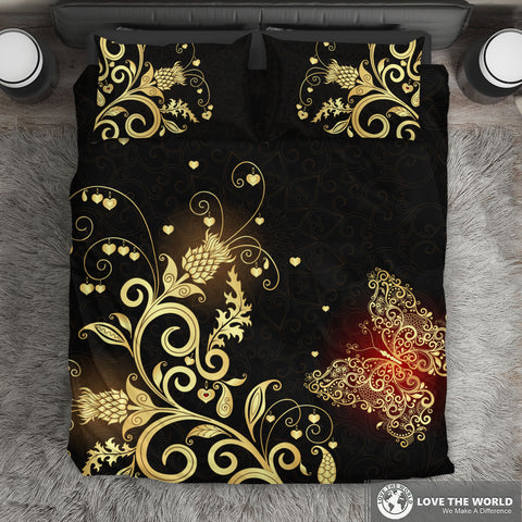 Scotland Bedding Set Scottish Golden Thistle | Special Custom Design | HOT Sale