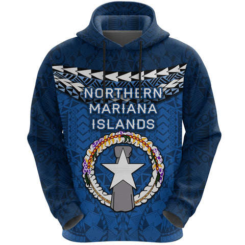 Image of Northern Mariana Islands Polynesian Hoodie - Vibes Version K8