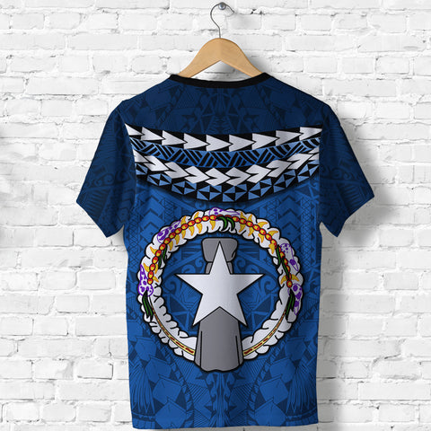 Northern Mariana Islands Polynesian T Shirt - Vibes Version K8