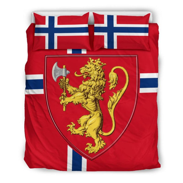 Norway Coat Of Arms Bedding Set Hot Sale Love The