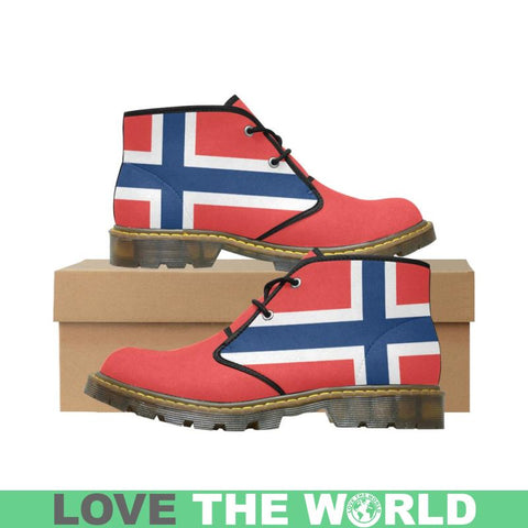 Norway Flag Chukka Boot Dn1 Us11 / Norway Womens Nubuck Chukka Boots/large Size (Model 2402) Nubuck