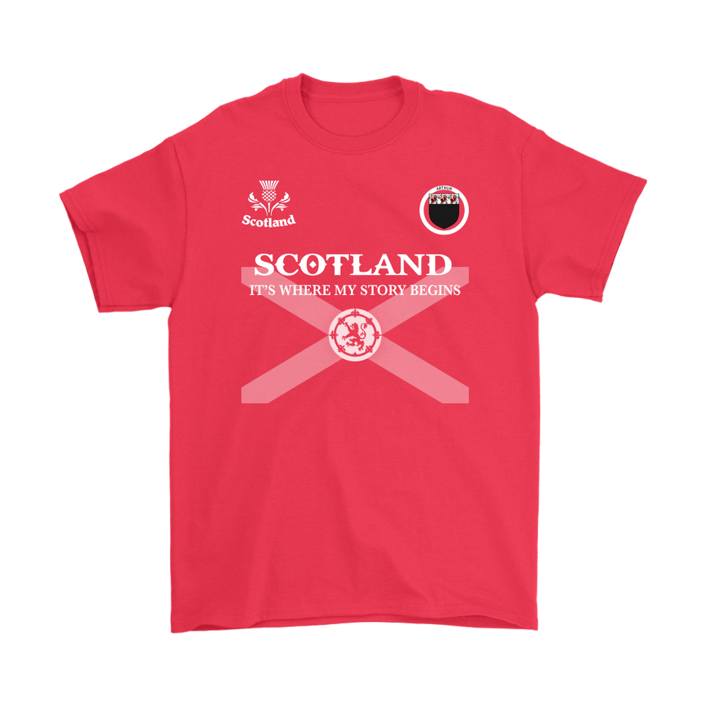 Scotland Family Shirt - Arthur | Exclusive Over 1200 Clans – 1stTheWorld