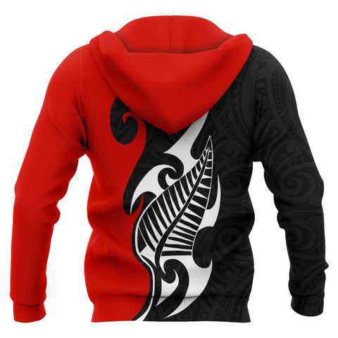 New Zealand Maori Special Style Hoodie Bn10