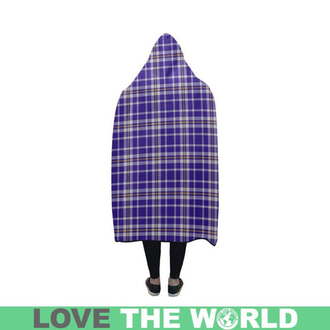 Image of Ochterlony Tartan Hooded Blanket - Bn | Love The World