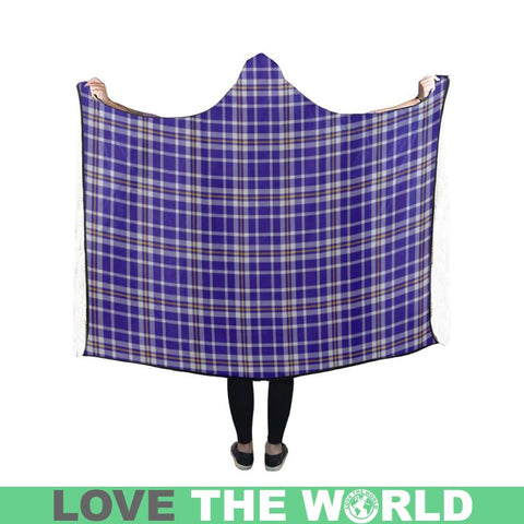 Ochterlony Tartan Hooded Blanket - Bn | Love The World