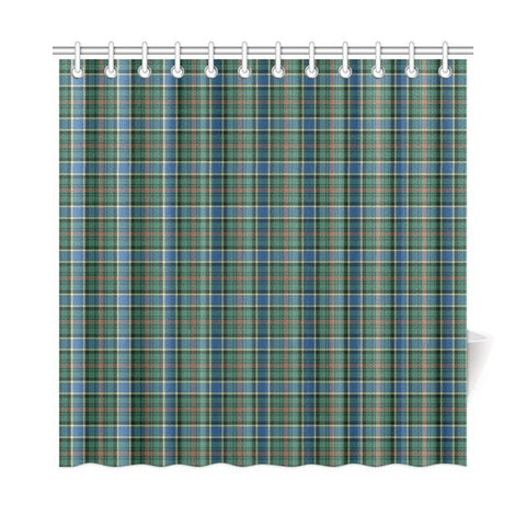 Tartan Shower Curtain - Ogilvie Hunting Ancient | Bathroom Products | Over 500 Tartans