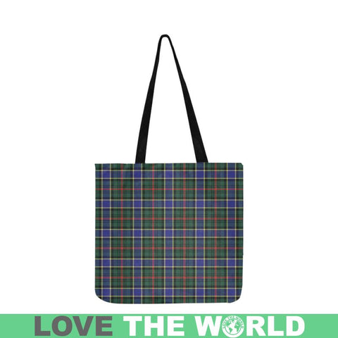 Ogilvie Hunting Modern Tartan Reusable Shopping Bag - Hb1 Reusable Shopping Bag Model 1660 (Two