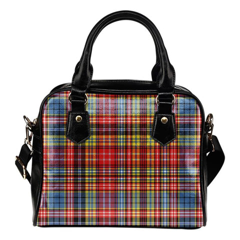Tartan Shoulder Handbag - Ogilvie Of Airlie Ancient