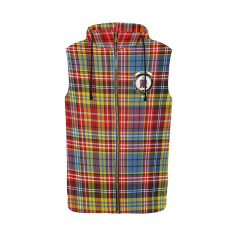 Ogilvie Of Airlie Ancient Tartan Sleeveless Zip Up Hoodies