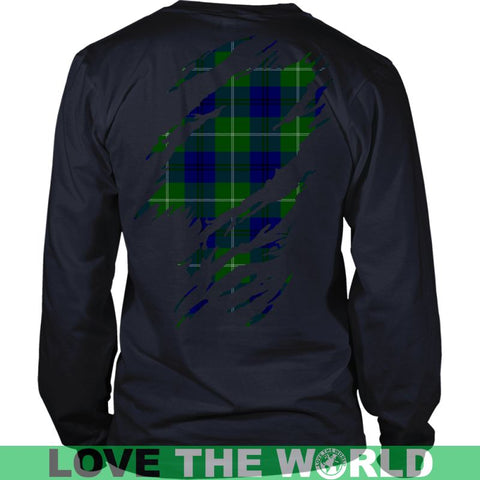 Image of Oliphant Tartan Shirt And Tartan Hoodie In Me
