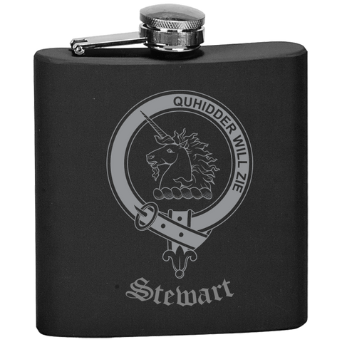 Scottish Flask - Stewart of Appin Clan Crest | Special Custom Design