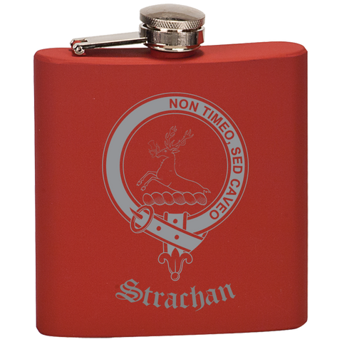 Scottish Flask - Stirling (of Keir) Clan Crest | Special Custom Design