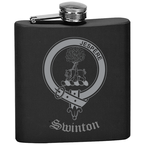 Scottish Flask - Swinton Clan Crest | Special Custom Design