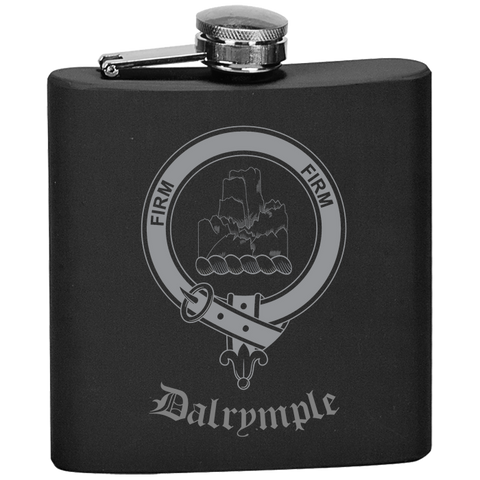 Scottish Flask - Dalrymple Clan Crest | Special Custom Design
