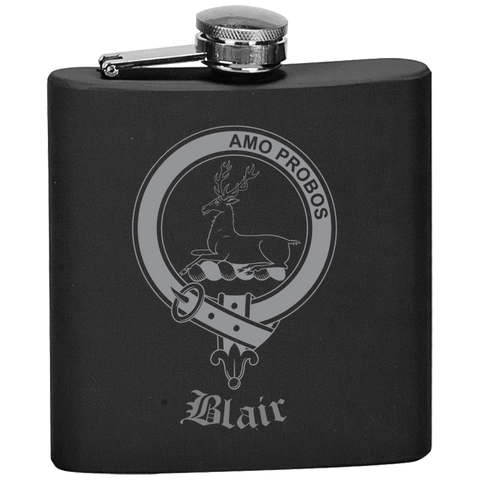 Scottish Flask - Blair Clan Crest | Special Custom Design