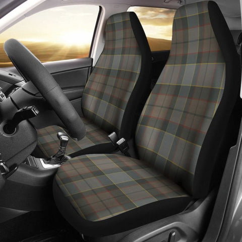 Image of Outlander Fraser Tartan Car Seat Cover