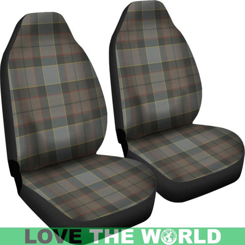 Image of Outlander Fraser Tartan Car Seat Cover Nl25