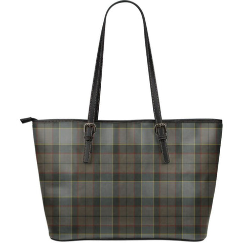 Outlander Fraser Tartan Handbag - Large Leather Tartan Bag Th8 |Bags| Love The World