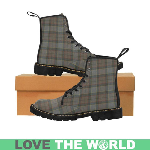 Image of Outlander Fraser Tartan Martin Boots | Scotland Boots | Over 500 Tartans