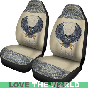 Owl And Dreamcatcher Car Seat Covers K5