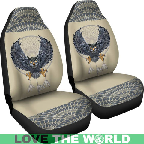 Image of Owl N Dreamcatcher Car Seat Covers C1