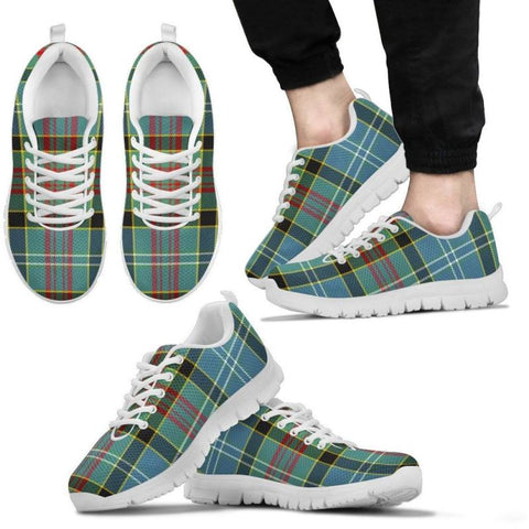 Paisley District Tartan Sneakers - Bn Mens Sneakers White / Us5 (Eu38)