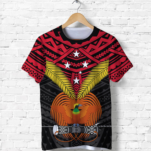 Image of Papua New Guinea T Shirt Bird of Paradise | 1sttheworld