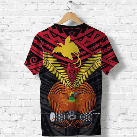 Image of Papua New Guinea T Shirt Bird of Paradise K4