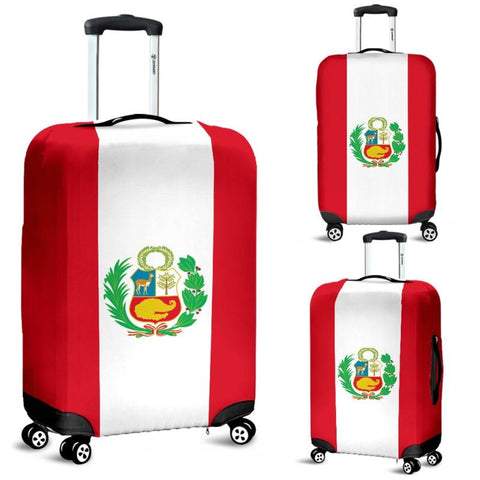 Peru Flag Luggage Cover A4 Covers
