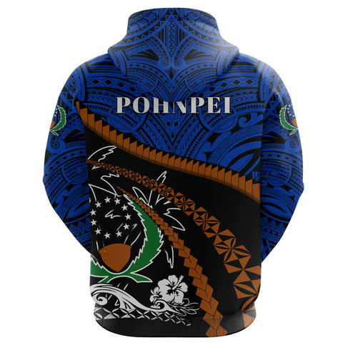 Pohnpei Zip Up Hoodie - Road to Hometown K8