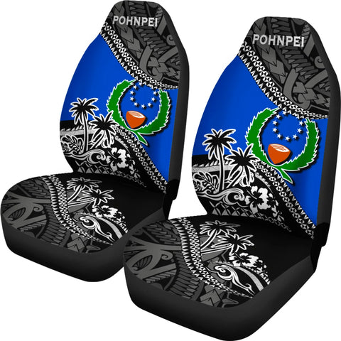 Image of Pohnpei Car Seat Covers Fall In The Wave 2