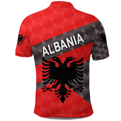 Albania Polo Shirt Sporty Style K8