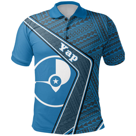 Image of Yap Polo Shirt - Polynesian Coat Of Arms| Love The World