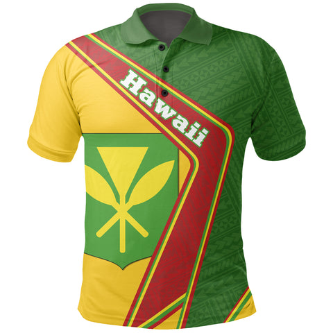 Image of Hawaii Polo Shirt - Polynesian Coat Of Arms | Love The World