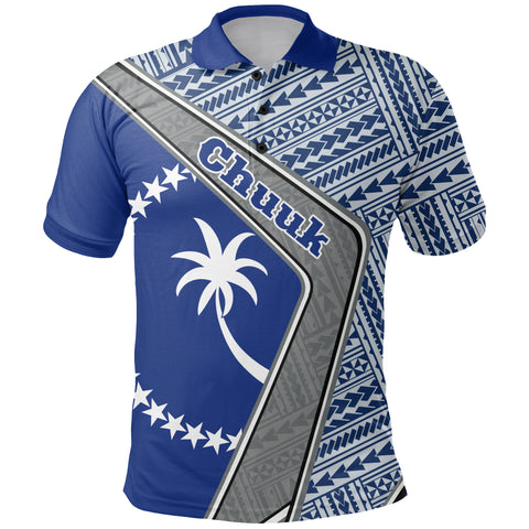 Chuuk Polo Shirt - Polynesian Coat Of Arms | Love The World