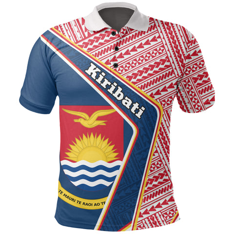 Kiribati Polo Shirt - Polynesian Coat Of Arms | Love The World