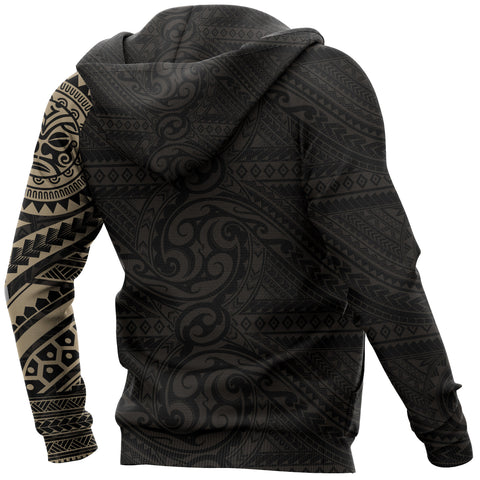 Polynesian Face™ Tattoo Style Hoodie | Women & Men | All Over Print
