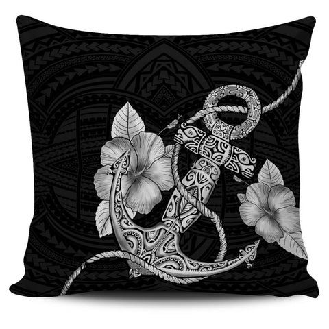 Polynesian Hibiscus Pillow Covers H4 Pillows