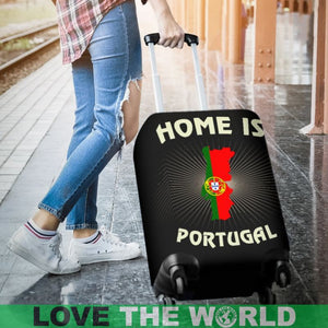 Portugal Is Home Luggage Cover A1