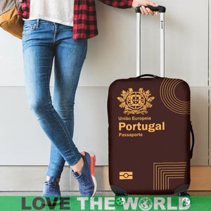 Portugal Luggage Cover - Portuguese Passport 01 - BN03