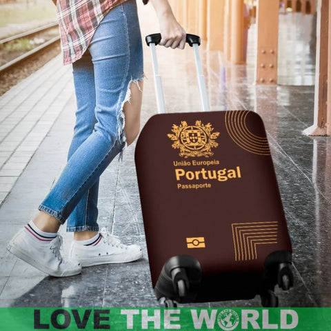 Portugal Luggage Cover - Portuguese Passport 01 - Bn04 | Love The World