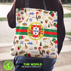 Portugal Symbols Tote Bag NN8