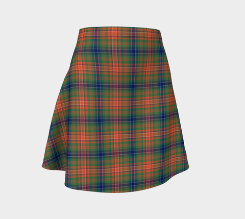 WILSON ANCIENT TARTAN FLARE SKIRT A9