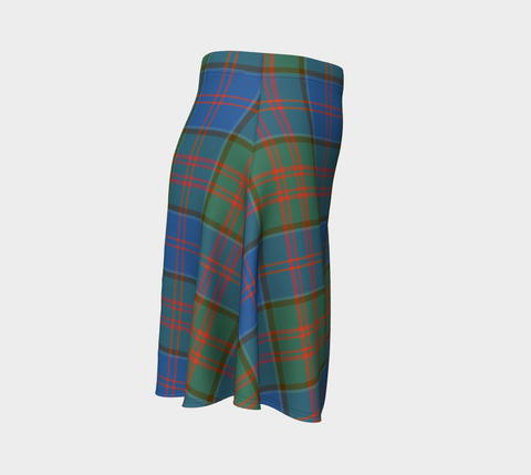 Tartan Skirt - Stewart Of Appin Hunting Ancient Women Flared Skirt A9 |Clothing| 1sttheworld