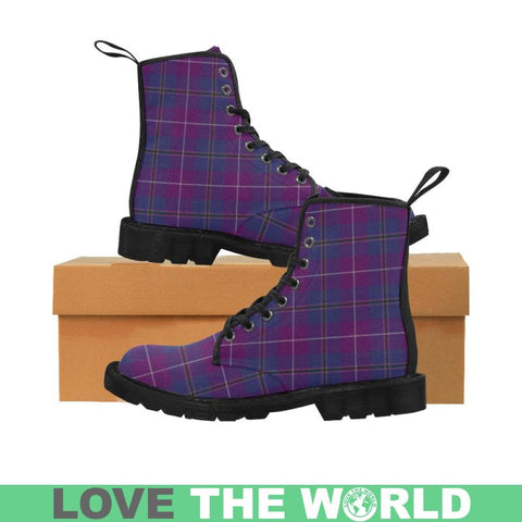 Image of Pride Of Glencoe Tartan Martin Boots | Scotland Boots | Over 500 Tartans