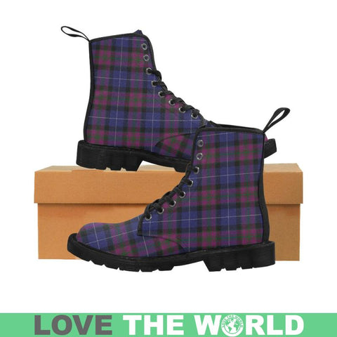 Image of Pride Of Scotland Tartan Martin Boots | Scotland Boots | Over 500 Tartans